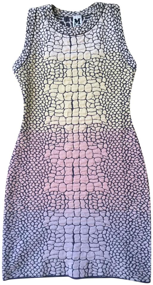 7880c8bbc4e9a Missoni Light Multi-colored Short Casual Dress Size 4 (S) - Tradesy