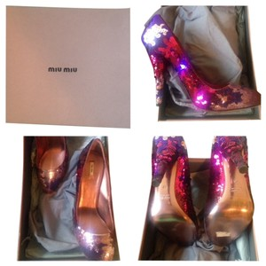 Miu Miu Pink/Purple Pumps