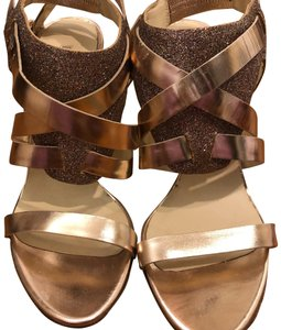 Vera Wang Party Sparkle Heels gold Formal