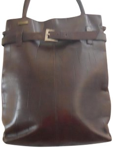 Falor Italy Leather Satchel in Brown