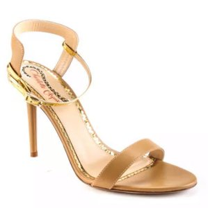 Charlotte Olympia Nude Gold Formal