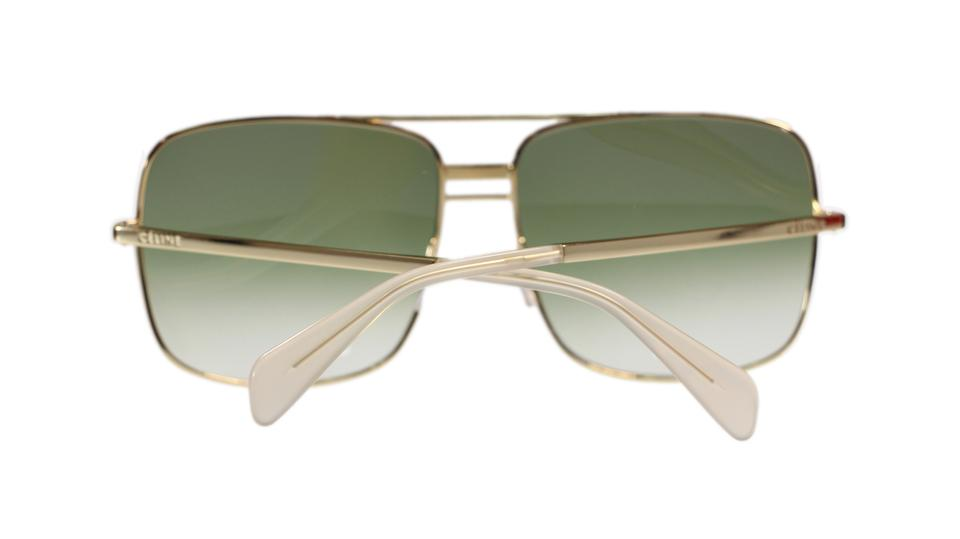 f16ee51f320c Céline Celine Sunglasses CL41808 J5g Gold With Green Gradient Lens Image 4.  12345
