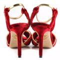 Charlotte Olympia Red Gold Pumps Image 2