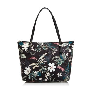 Kate Spade Lightweight Nylon Tote Floral Botanical Satchel in Multicolor