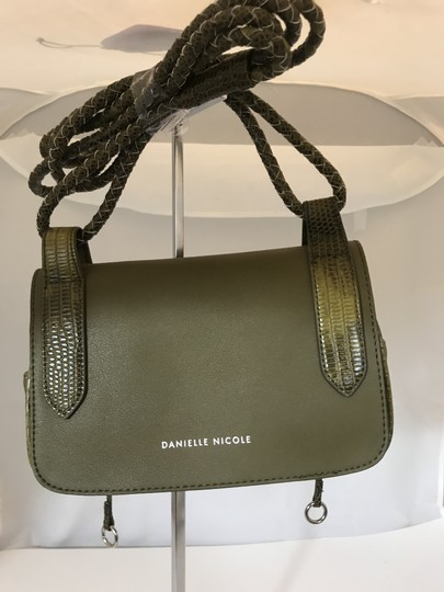 Danielle Nicole Olive Green Green Cross Body Bag Image 1