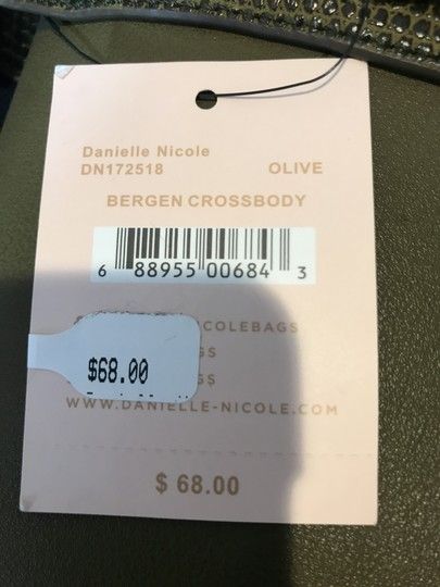 Danielle Nicole Olive Green Green Cross Body Bag Image 5