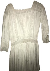 Ulla Johnson short dress White Bohemian Boho Lace Premium Cotton on Tradesy