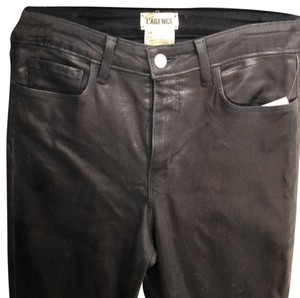 L'AGENCE Paris Skinny Jeans-Coated