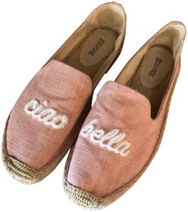 Soludos Espadrilles Casual Size 9 Pink Flats