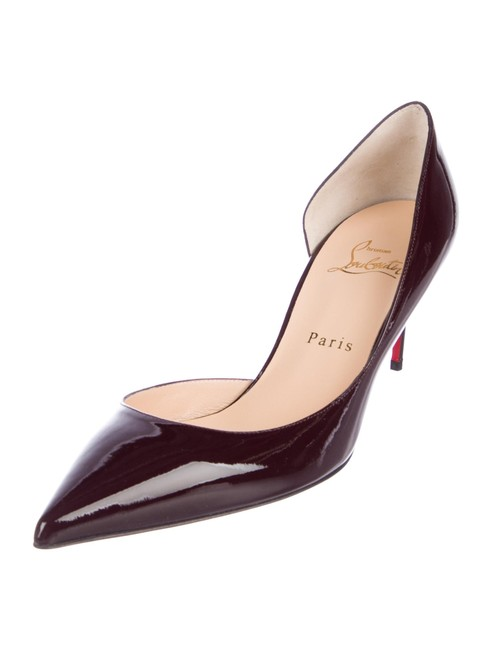 Christian Louboutin New Patent Leather Pointed-toe 8 Pumps Size EU 38 (Approx. US 8) Regular (M, B) Christian Louboutin New Patent Leather Pointed-toe 8 Pumps Size EU 38 (Approx. US 8) Regular (M, B) Image 1