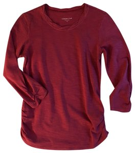 Coldwater Creek T Shirt Cranberry