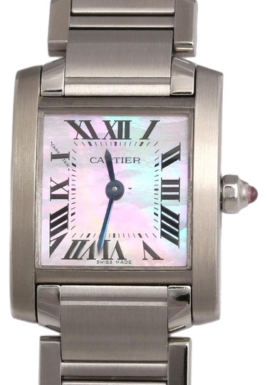 Preload https://img-static.tradesy.com/item/24331519/cartier-silver-stainless-steel-tank-francaise-ladies-watch-0-1-540-540.jpg