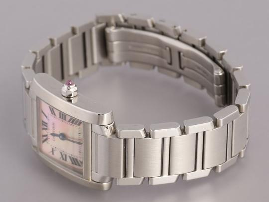 Cartier Stainless Steel Tank Francaise Ladies Watch Image 2