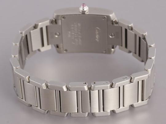 Cartier Stainless Steel Tank Francaise Ladies Watch Image 3