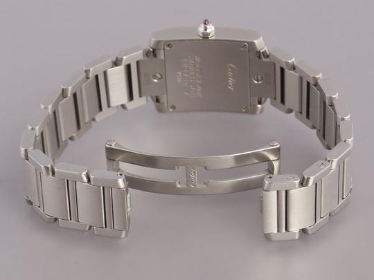 Cartier Stainless Steel Tank Francaise Ladies Watch Image 4