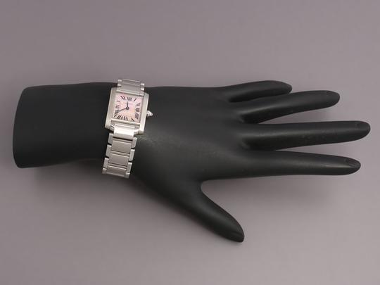 Cartier Stainless Steel Tank Francaise Ladies Watch Image 5