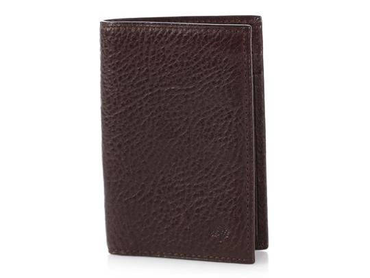 Mulberry Brown Leather Pocket Organizer Image 1
