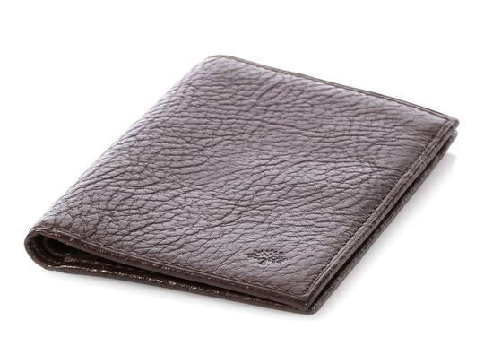 Mulberry Brown Leather Pocket Organizer Image 6