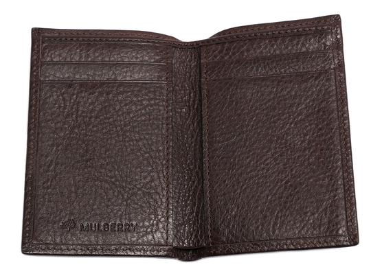 Mulberry Brown Leather Pocket Organizer Image 7