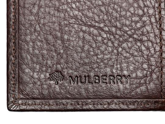 Mulberry Brown Leather Pocket Organizer Image 9