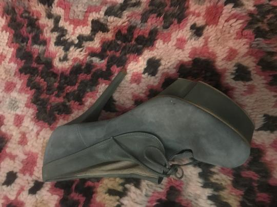 Jeffrey Campbell Party Stiletto Festival Suede Grey Platforms Image 2