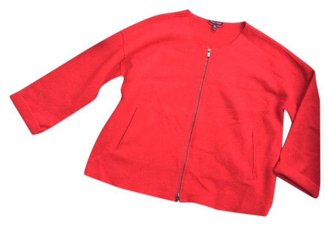 Preload https://img-static.tradesy.com/item/24331645/eileen-fisher-red-front-zip-round-neck-wool-jacket-size-8-m-0-3-650-650.jpg