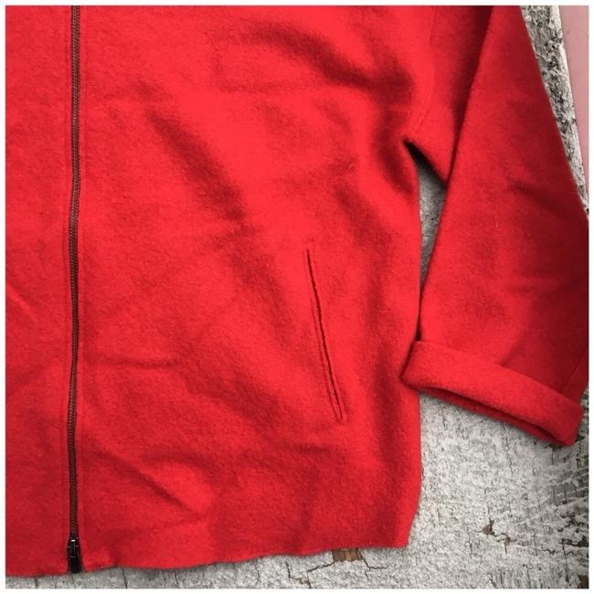 Eileen Fisher Red Jacket Image 1