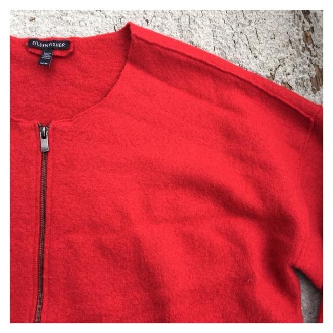 Eileen Fisher Red Jacket Image 2