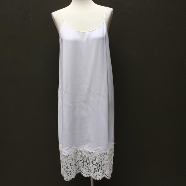 white Maxi Dress by Marie France Van Damme Image 1