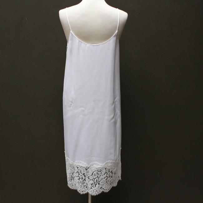 white Maxi Dress by Marie France Van Damme Image 2