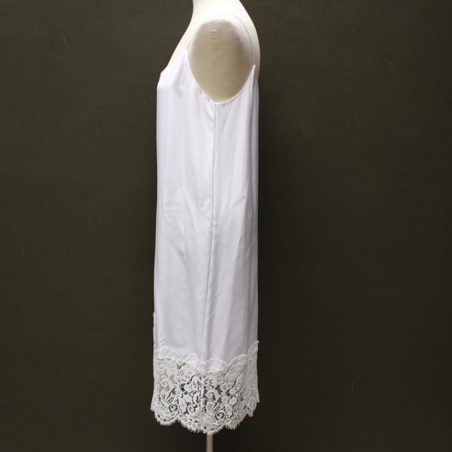 white Maxi Dress by Marie France Van Damme Image 3