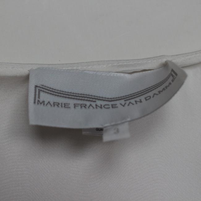 white Maxi Dress by Marie France Van Damme Image 4