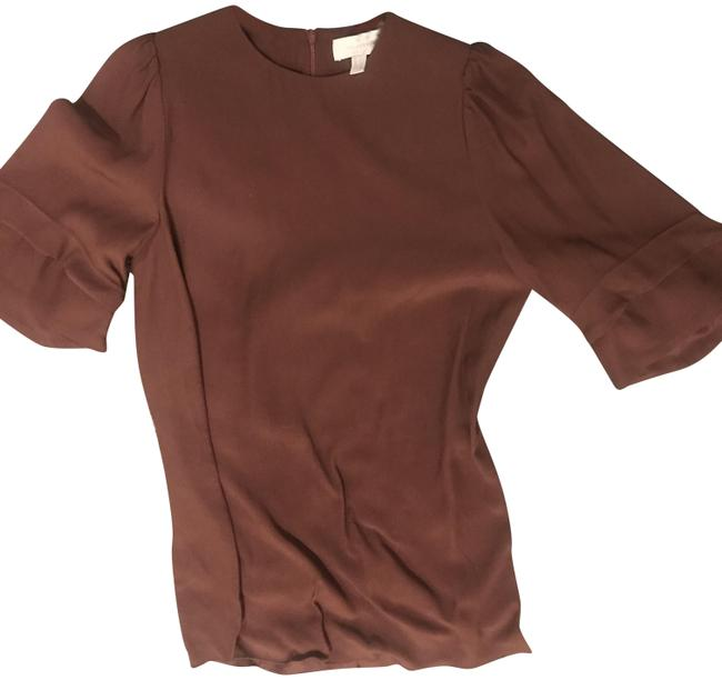 Item - Brown Bell Sleeve Blouse Size 2 (XS)