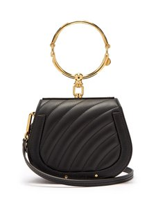 Chloé Nile Quilted Nile Cross Body Bag