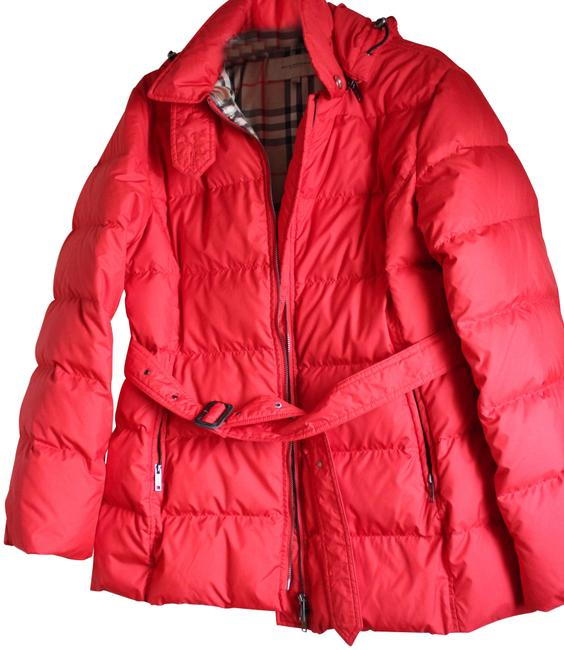 Item - Red Goosedown Puffer Coat Size 14 (L)