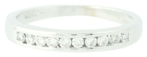 Other Women's Wedding Band - 14k White Gold Ring N9129