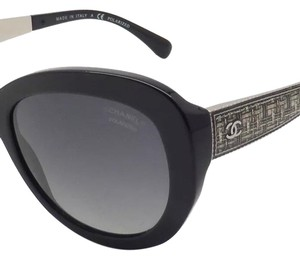 Chanel Auth CHANEL Sunglass Polarized Gradient BUTTERFLY