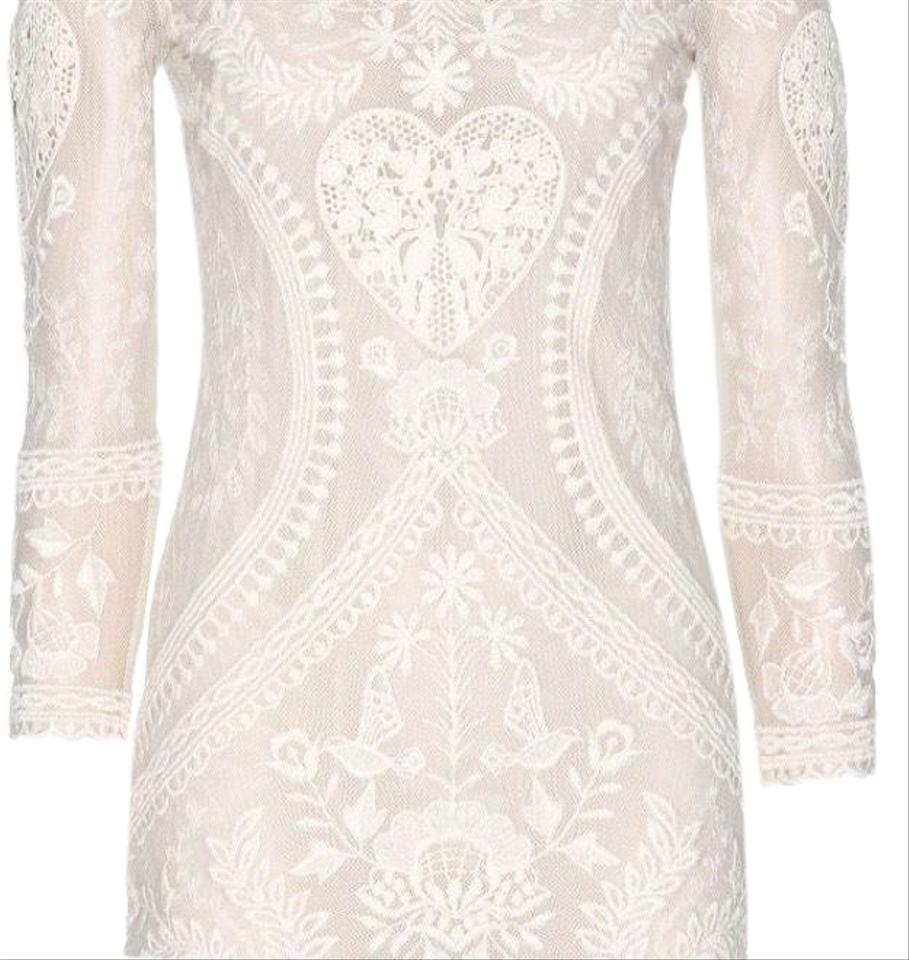 a9241325da4 Isabel Marant Ivory Devi Short Cocktail Dress Size 4 (S) - Tradesy