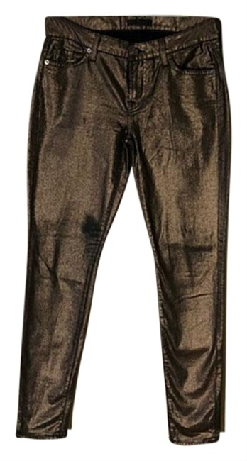Preload https://img-static.tradesy.com/item/24332695/7-for-all-mankind-brown-coated-metallic-skinny-jeans-size-28-4-s-0-3-650-650.jpg