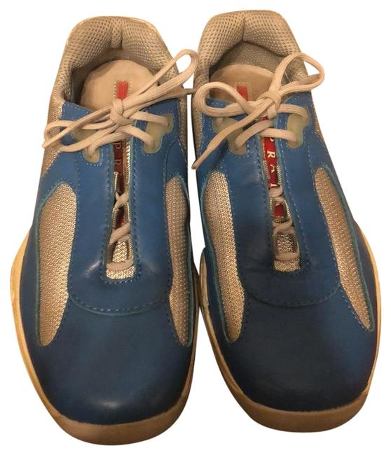 Item - Blue American Cup Sneakers Size US 8.5 Regular (M, B)