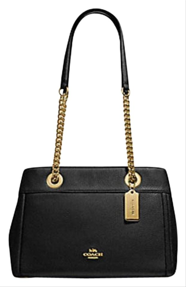 b99913d7199c ... where to buy coach carryall 34797 36704 christie satchel in black b4a4e  447be