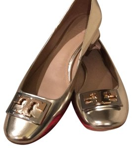 Tory Burch Metallic Gold Formal