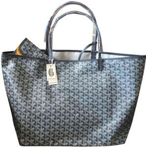 Goyard Saint Louis St Louis Gm Tote in Grey