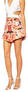 Finders Keepers Floral Dress Shorts Multi-Color