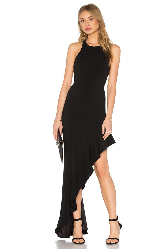 Jay Godfrey Black Bell Gown Long Cocktail Dress Size 6 S Tradesy