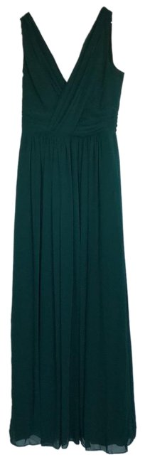 Item - Hunter Green Collection Style 2894 Long Formal Dress Size 10 (M)