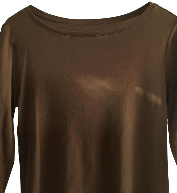 Item - Brown Wash Cold Tee Shirt Size 12 (L)