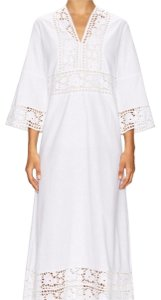 white Maxi Dress by Antik Batik