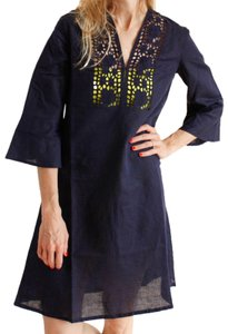 Antik Batik short dress navy on Tradesy