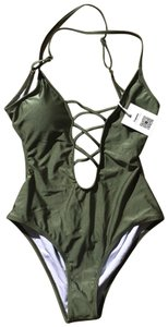 Cupshe One Piece Criss Cross NWT Open Back